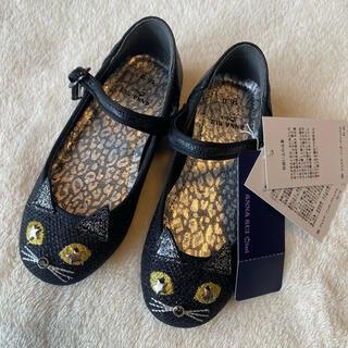 ANNA SUI mini - 新品 アナスイミニ   フォーマルシューズ 靴 ネコ 16.0 16cm