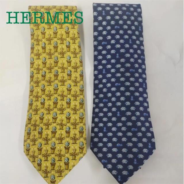 Hermes(エルメス)のHERMES エルメス ネクタイ メンズのファッション小物(ネクタイ)の商品写真