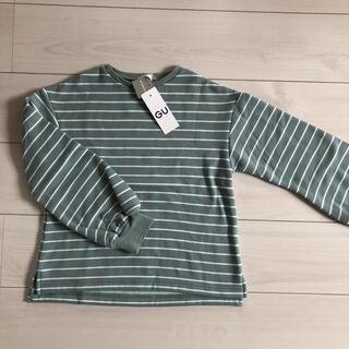 ジーユー(GU)の新品☆ GU 140cm 女の子用トレーナー(Tシャツ/カットソー)