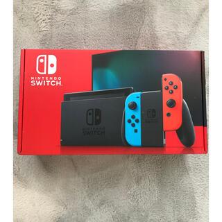 Nintendo Switch - ニンテンドースイッチ 本体 ネオン ブルー レッド 新品未開封品