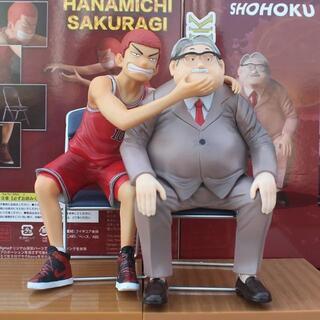 【海外限定】スラムダンク フィギュア 桜木花道×安西先生セット(アニメ/ゲーム)