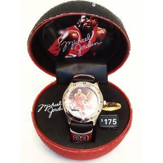 ウィルソン(wilson)の【✨未使用美品✨】マイケルジョーダン✕Wilson限定腕時計🌟(腕時計(アナログ))