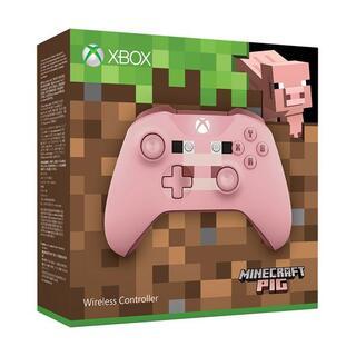 エックスボックス(Xbox)のXboxone ワイヤレス コントローラー (Minecraft Pig)(その他)