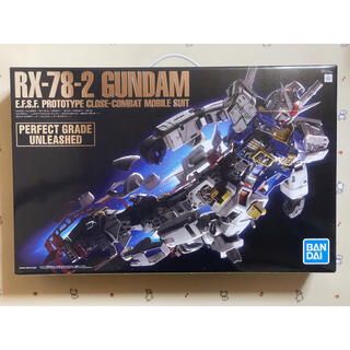 バンダイ(BANDAI)のPG UNLEASHED RX-78-2 1/60 ガンダム(模型/プラモデル)
