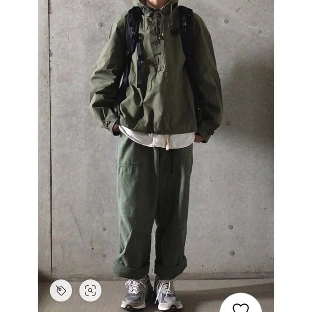 Maison Martin Margiela(マルタンマルジェラ)の超希少 70s ビンテージ U.S.ARMY ファティーグパンツ ベイカーパンツ メンズのパンツ(ワークパンツ/カーゴパンツ)の商品写真