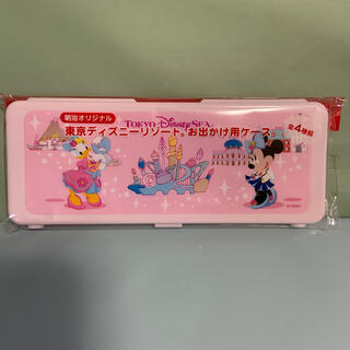 ディズニー(Disney)の明治 ミルク らくらくキューブ お出かけ用ケース ディズニーリゾート(その他)