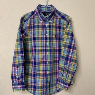 Ralph Lauren - ラルフローレン 長袖チェックシャツ 140
