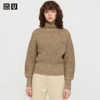 UNIQLO - 【UNIQLO U 】ローゲージタートルネックセーター