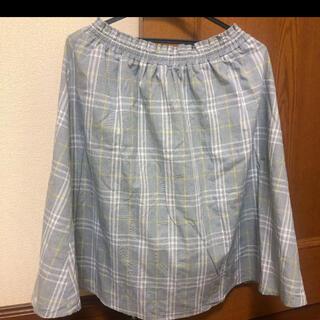 シマムラ(しまむら)のしまむら×mer  スカート(ひざ丈スカート)