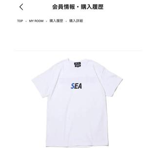 アトモス(atmos)のatmos × WIND AND SEA Tシャツ(Tシャツ/カットソー(半袖/袖なし))
