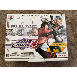 プレイステーション3(PlayStation3)のタイムクライシス4 ガンコン3同梱版【完品】(家庭用ゲームソフト)