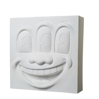 メディコムトイ(MEDICOM TOY)のThree Eyed Smiling Face STATUE WHITE Ver(その他)