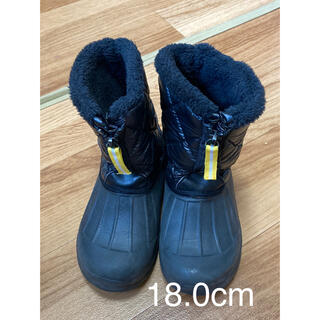 ヒラキ★軽量★ウィンターブーツ 防寒ブーツ 18センチ(ブーツ)