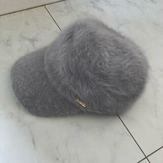 プティマイン(petit main)のプティマイン ファー帽子 キャップ(帽子)