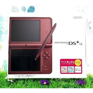 ニンテンドーDS - 【美品】 ニンテンドーDSi LL  DSiLL  任天堂  ワインレッド