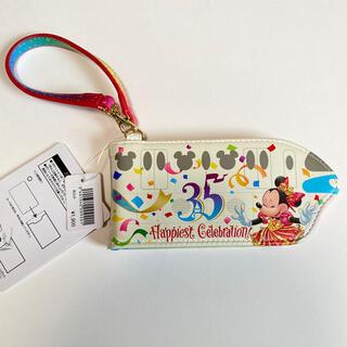 ディズニー(Disney)のディズニーリゾートライン 35周年パスケース 新品タグ付き 匿名配達(パスケース/IDカードホルダー)
