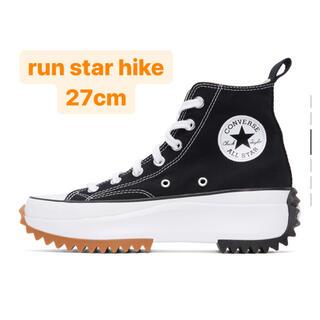 CONVERSE - Converse ブラック Run Star Hike 27cm