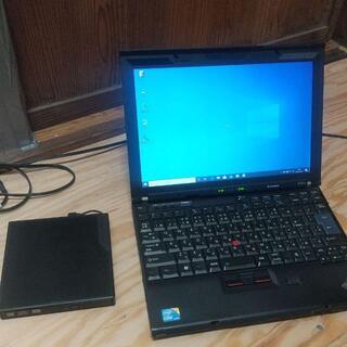 中古実動ノートパソコン lenovo X201i SSD換装済 office入り(ノートPC)