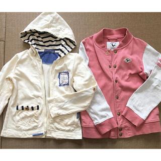 ハッシュアッシュ(HusHush)のまとめ売り 子供服 ジャケット アウター 春物 120 (ジャケット/上着)
