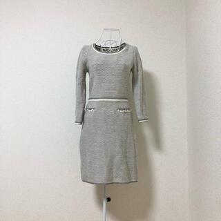 PROPORTION BODY DRESSING - proportion body dressing ツイード ニットワンピース