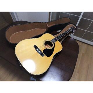 ヤマハ(ヤマハ)のヤマハアコースティックギター FG-201B オレンジラベル 美品(アコースティックギター)
