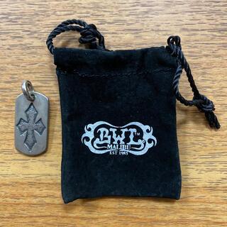 ビルウォールレザー(BILL WALL LEATHER)のBill Wall Leather cross dog pendant(ネックレス)