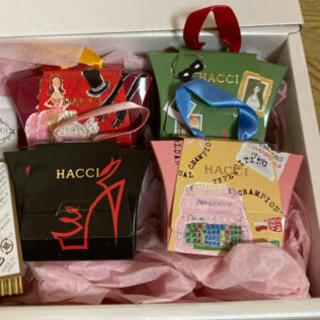 HACCI - HACCI ハンドクリーム 石鹸4個セット 新品