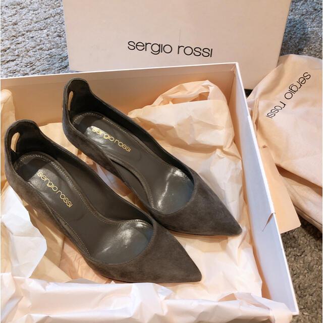 Sergio Rossi(セルジオロッシ)の美品sergio rossiパンプス レディースの靴/シューズ(ハイヒール/パンプス)の商品写真