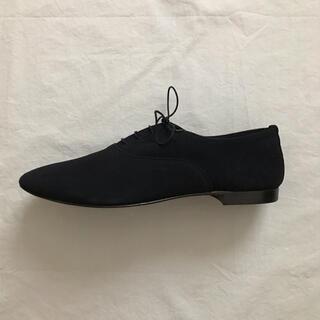 エヴァムエヴァ(evam eva)のevameva スエードレースアップシューズ(ローファー/革靴)