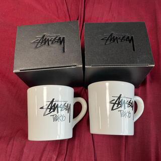 STUSSY - stussy ノベルティ マグカップ 新品 Tokyo 2個セット ペアにどうぞ