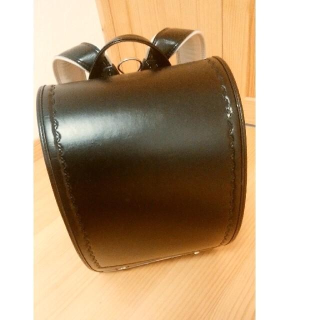 黒ランドセル(天使の羽) キッズ/ベビー/マタニティのこども用バッグ(ランドセル)の商品写真