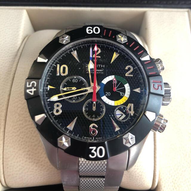 ZENITH(ゼニス)の鉄人28号さま専用 メンズの時計(腕時計(アナログ))の商品写真
