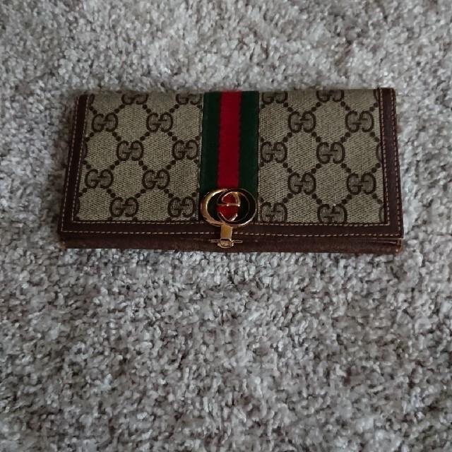 Gucci(グッチ)のGUCCI長財布 レディースのファッション小物(財布)の商品写真