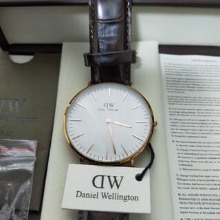 ダニエルウェリントン(Daniel Wellington)の♡ダニエルウェリントン[40mm]♡【美品】(腕時計(アナログ))