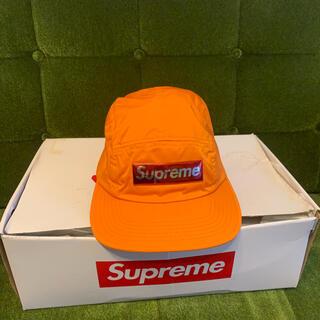 Supreme - Supreme 17AW LIQUID METAL LOGO CAMP CAP