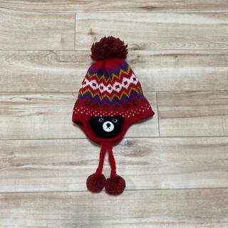 ミキハウス(mikihouse)のミキハウス ニット帽 美品(帽子)