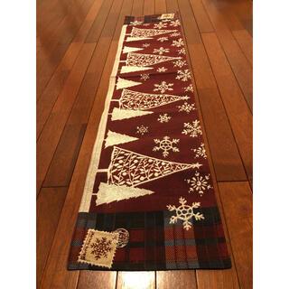 ニトリ(ニトリ)のテーブルランナー ホワイトツリー 32×150(テーブル用品)