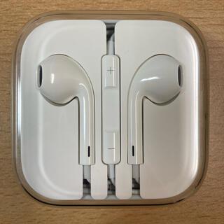 Apple -  iPhone 純正 イヤホン イヤフォン イヤホンジャック用 未使用品