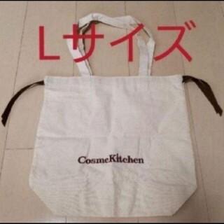 コスメキッチン(Cosme Kitchen)のコスメキッチン エコバッグ L ラッピング 匿名配送(エコバッグ)