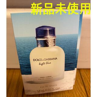 ドルチェアンドガッバーナ(DOLCE&GABBANA)の新品未使用 ドルチェアンドガッバーナ 香水 試供品(ユニセックス)