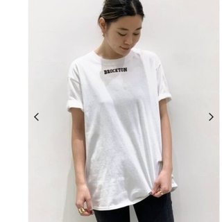 L'Appartement DEUXIEME CLASSE - 【BROCKTON GYMNASIUM】フロッキーロゴTシャツ