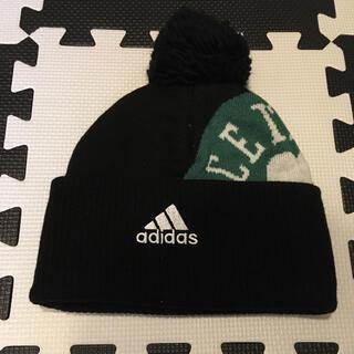 アディダス(adidas)のadidas NBA ボストンセルティクス ニット帽(ニット帽/ビーニー)