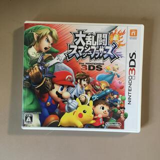 ニンテンドー3DS(ニンテンドー3DS)の大乱闘スマッシュブラザーズ for Nintendo 3DS 3DS(携帯用ゲームソフト)