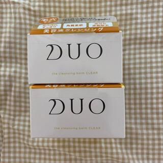 DUO(デュオ) ザ クレンジングバーム クリア(90g)2個