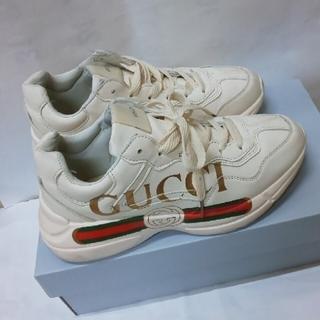 Gucci - 早い者勝ち❗ GUCCI スニーカー 25cm