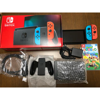 Nintendo Switch JOY-CON(L) ネオンブルー/(R) ネオ