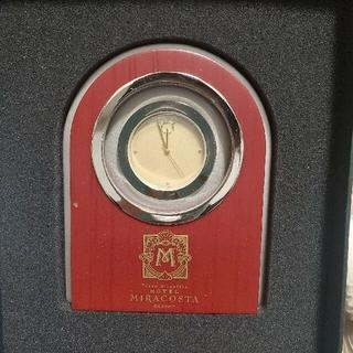 ディズニー(Disney)のホテルミラコスタ 置時計(置時計)