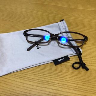 ジンズ(JINS)のJINS ブルーライトカットメガネ(サングラス/メガネ)