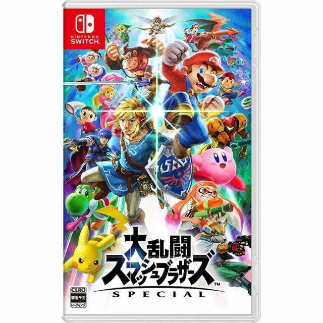 Nintendo Switch(ニンテンドースイッチ)のNintendo Switch 大乱闘スマッシュブラザーズ SPECIAL エンタメ/ホビーのゲームソフト/ゲーム機本体(携帯用ゲームソフト)の商品写真