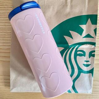 Starbucks Coffee - スタバ バレンタイン ハートタンブラー 2020